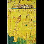 Weezer New Fillmore Poster F245
