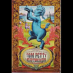 Tom Petty And The Heartbreakers (blue) New Fillmore Poster F251
