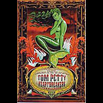Tom Petty And The Heartbreakers (green) New Fillmore F253 Poster
