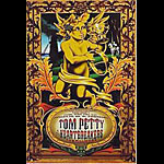 Tom Petty And The Heartbreakers (yellow) New Fillmore F254 Poster