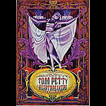 Tom Petty And The Heartbreakers (purple) New Fillmore F255 Poster