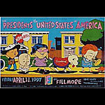 Presidents Of The United States Of America New Fillmore F264 Poster