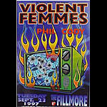 Violent Femmes New Fillmore Poster F291