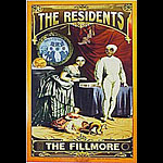 The Residents New Fillmore Poster F299