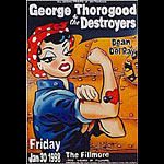 George Thorogood And The Destroyers   New Fillmore Poster F312