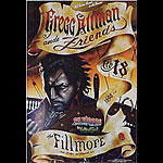 Gregg Allman & Friends New Fillmore Poster F315