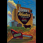 Johnny Winter  New Fillmore F325 Poster