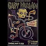 Gary Numan  New Fillmore Poster F328
