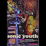 Sonic Youth  New Fillmore F330 Poster