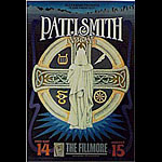 Patti Smith New Fillmore Poster F338
