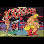 Cracker New Fillmore F345 Poster