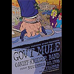 Gov't Mule New Fillmore Poster F350