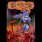 Big Head Todd & The Monsters New Fillmore Poster F355