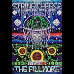 The String Cheese Incident New Fillmore Poster F369