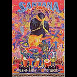 Santana New Fillmore F374 Poster