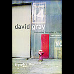 David Gray New Fillmore Poster F416