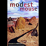 Modest Mouse New Fillmore F424 Poster