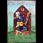Willie Nelson New Fillmore Poster F439