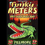 Funky Meters New Fillmore Poster F444