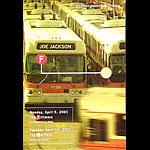 Joe Jackson New Fillmore F453 Poster