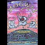 Mogwai New Fillmore F465 Poster