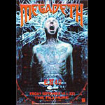 Megadeth New Fillmore Poster F479a