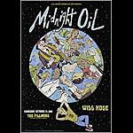 Midnight Oil New Fillmore F481 Poster