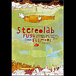 Stereolab New Fillmore F484 Poster