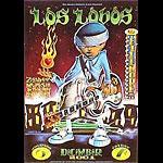 Los Lobos New Fillmore F500 Poster