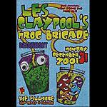 Les Claypool's Frog Brigade New Fillmore Poster F504