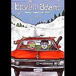 Bryan Adams New Fillmore Poster F505