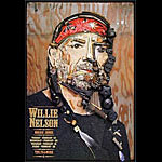 Willie Nelson 2002 Fillmore F511 Poster