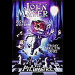 John Mayer New Fillmore Poster F516