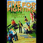 Five For Fighting New Fillmore Poster F518