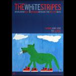 The White Stripes 2002 Fillmore F522 Poster