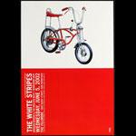 The White Stripes 2002 Fillmore F523 Poster