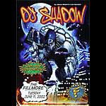DJ. Shadow New Fillmore F525 Poster