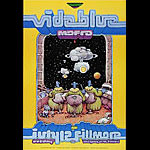 Vida Blue New Fillmore Poster F530a