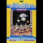 Vida Blue New Fillmore F530a Poster