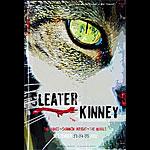 Sleater-Kinney New Fillmore Poster F536