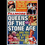Queens of the Stone Age 2002 Fillmore F537 Poster