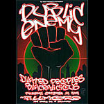 Public Enemy New Fillmore Poster F539