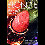 Blondie New Fillmore Poster F544