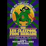 Les Claypool Frog Brigade New Fillmore F551 Poster