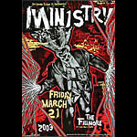 Ministry New Fillmore Poster F559