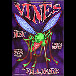 The Vines New Fillmore Poster F560