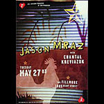 Jason Mraz New Fillmore Poster F567
