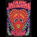 Jack Johnson New Fillmore Poster F568
