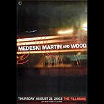 Medeski New Fillmore F576 Poster