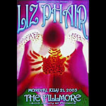 Liz Phair  New Fillmore Poster F578A